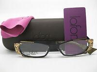 Lafont Idylle Eyeglasses, Color 100 Black, Size 50-15-135, Brand