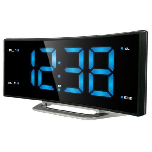 Technoline WT 460 Digitaler Radiowecker 10 Sender speicherbar 12/24h 2 Alarme