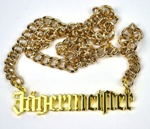 Cool-Jagermeister-Necklace-Chain-Necklace-with-Logo-3-7-8in-Lettering