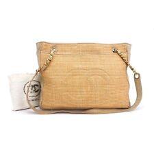 Vintage Chanel Tweed/ Leather Shoulder Bag.NFV 3963