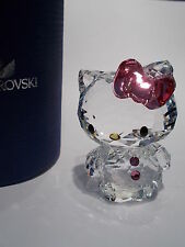 SWAROVSKI - HELLO KITTY PINK BOW-  MINT - BNIB