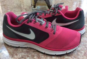 f129af46c9d08 Nike Vomero +8 Women s Pink Running Cross Training Shoes Size 9.5 ...