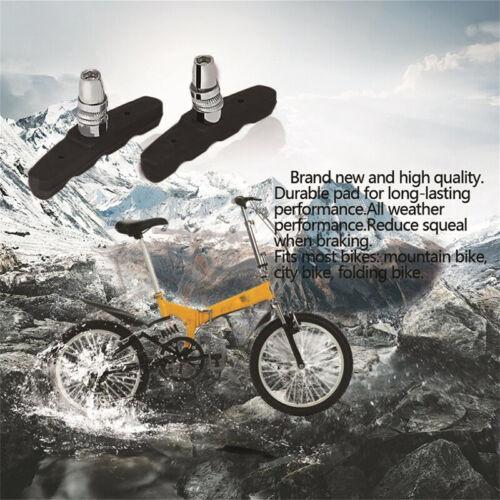 1 Pair Bicycle Break Shoes Brake Pads Holder Rubber Mountain Bike Bicycling /_/_ES