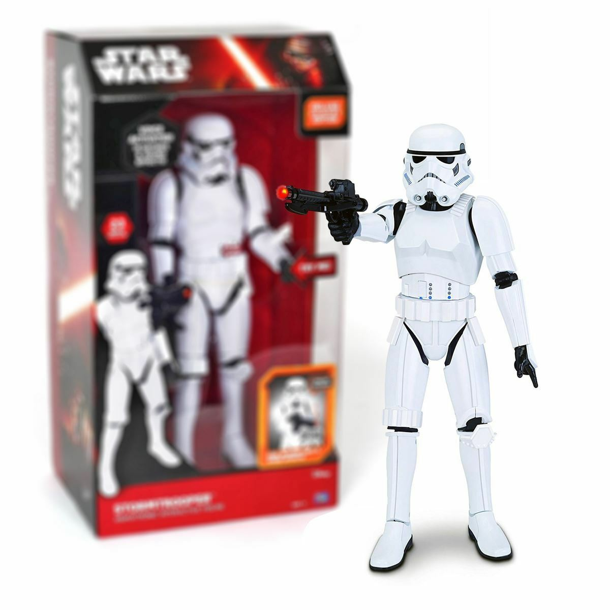 Neuf Allemand Parlant Star Wars Stormtrooper Interactif Figurine Sfx Officel