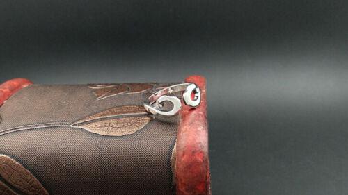 A15 Bague Homme Celtique Style B Sterling Argent 925 Taille Ajustable