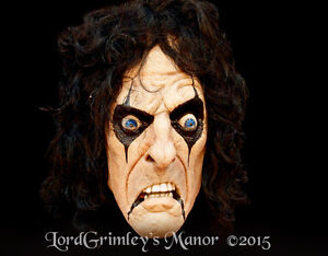 image is loading officially licensed alice cooper halloween mask rock vincent
