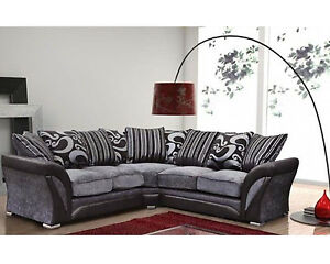 shannon corner sofa available in two colors ebay rh ebay co uk