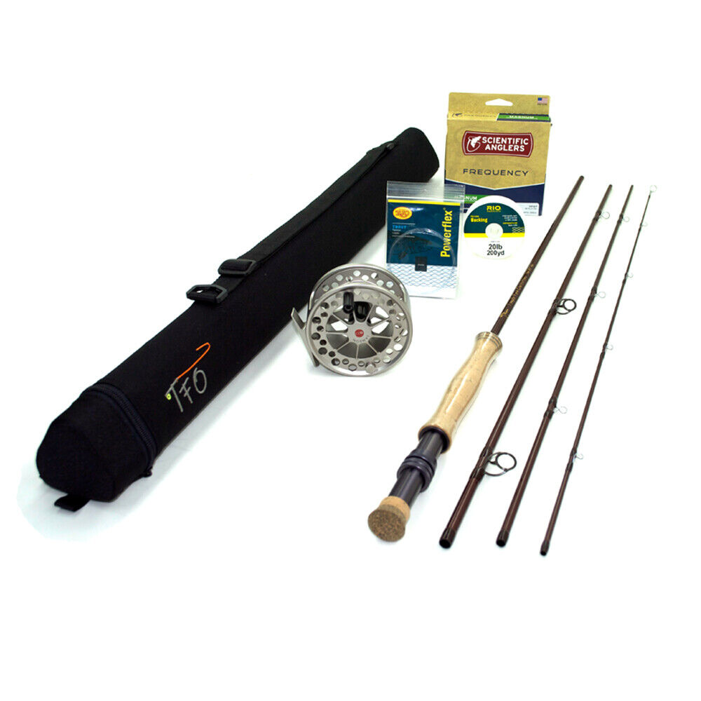 TFO Mangrove 6wt 9'0  Fly Rod  Outfit   TF 06 90 4 M  counter genuine