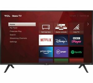 """TCL 40RS520K Roku 40"""" Smart Full HD HDR LED TV Streaming Ready - Currys"""