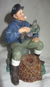 Royal Doulton - Hn2317 ' The Lobsterman ' Porcelain Figurine Pjxtouqc-08002429-375544444