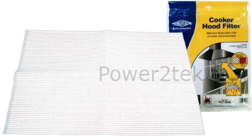 Cappa universale filtro anti grasso per estrattore ventilatore aria sfocatura Vent 114 x 47cm