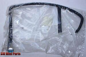 BMW-E46-Sedan-Detras-Derecho-Marco-De-La-Puerta-Ventanas-Manuales-Negro-51348222414