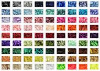 Satin Ribbon Columns 1 & 2  Berisfords Shade Card 8 Widths Sizes 3 to 70mm 3501
