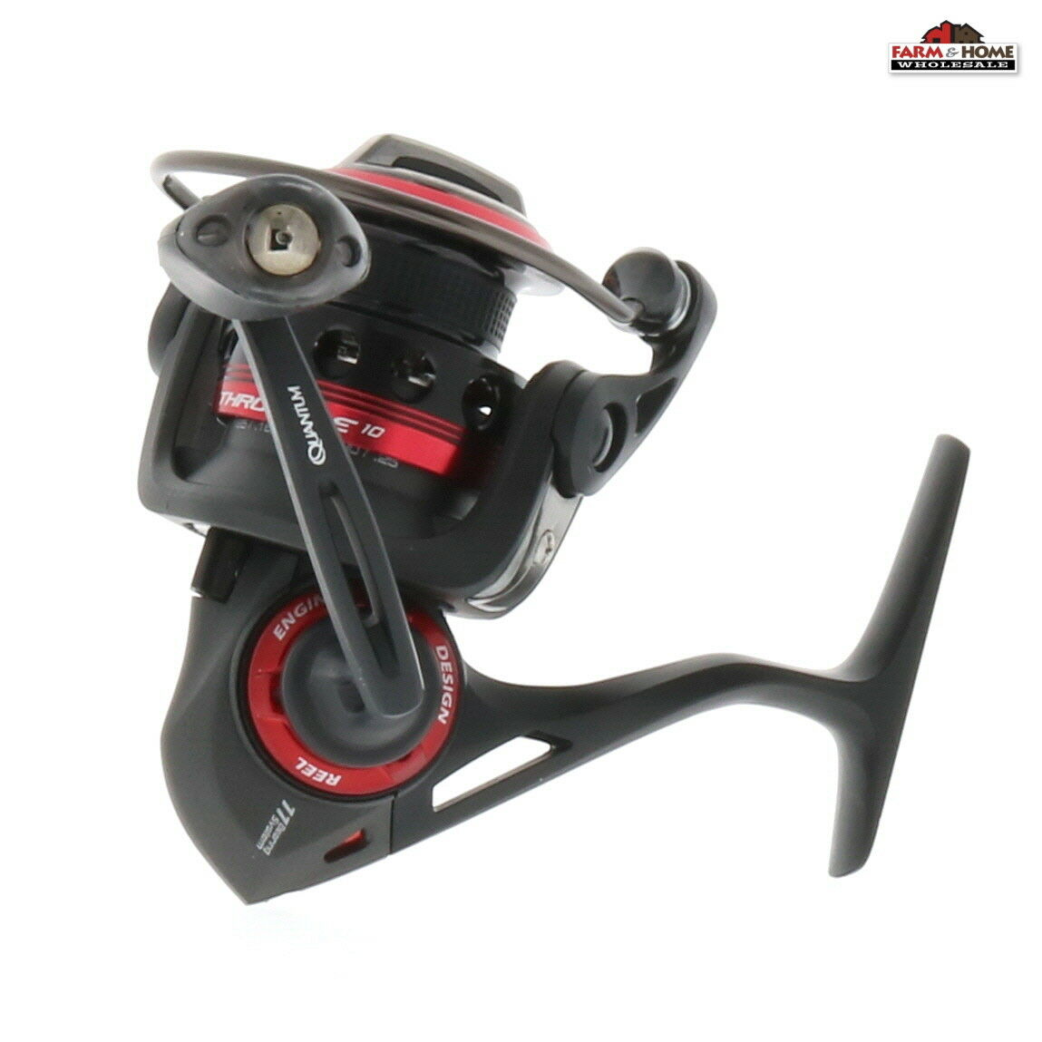 Quantum Thredtle TH10 Spinning Freshwater Fishing Reel  New