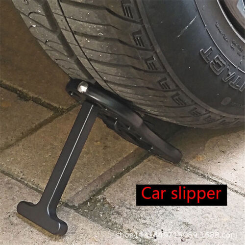 Black Aluminum Alloy Car Door Step Pedal Roof Rack Auxiliary Foot Pedal Foldable