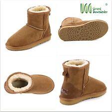baaca948cbf UGG Roxford Bomber Chestnut Twinface Sheepskin Sneaker Shoes Mens ...
