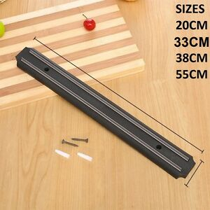 Strong Magnetic Wall Mounted Kitchen Knife Magnet Bar