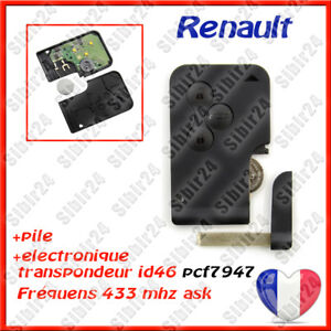 Carte-cle-vierge-electronique-a-programmer-Renault-Megane-2-Scenic-2-3-boutons