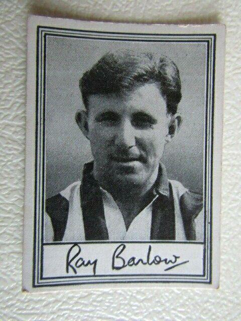 Barratt 1955 ~ famosos futbolistas serie A3 Tarjeta De Tarjetas De Fútbol vaiants e18