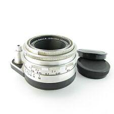 Für Exa Exakta Meyer Optik Görlitz Primotar E 3.5/50 red V Objektiv / lens