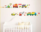 Cartoon truck world Wall Decor Vinyl Decal Stickers Removable Nursery Kids Baby