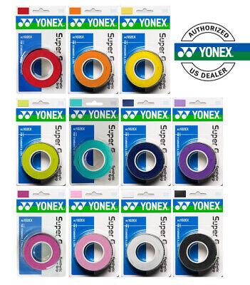 Authorized dealer Deep Blue Yonex Super Grap Overgrip 3 Pack