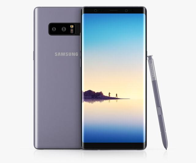 Samsung Galaxy Note8 SM-N9500 Dual SIM - 64GB - Orchid Grey Smartphone