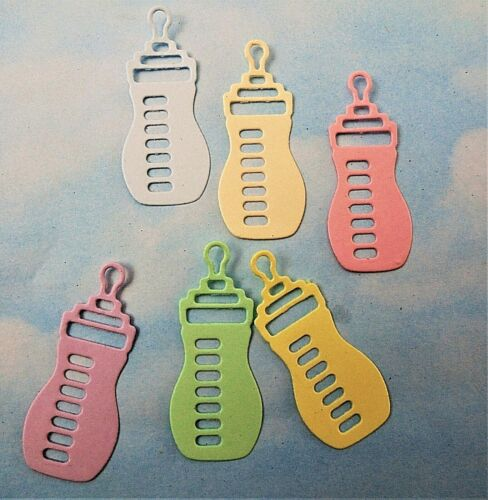 Botella Teddy X 32 nuevo bebé, pies Die Cut Bebé Chalecos Botones color mixto