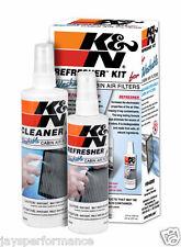 99-6000 K&N REFRESHER KIT CLEANER FOR CABIN (POLLEN) AIR FILTER ELEMENT