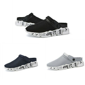 Men-Slip-On-Garden-Clogs-Slippers-Water-Shoes-Sandals-Breathable-Sneakers-Muk15