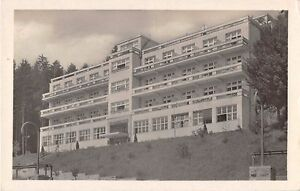LAZNE-LUHACOVICE-CZECHOSLOVAKIA-MIRAMONTI-PHOTO-POSTCARD-1948