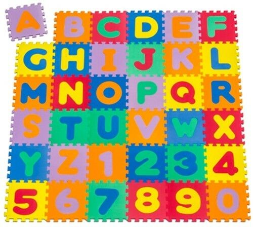 Spielmatte 86tlg Spielteppich Puzzlematte Kinderteppich Matte Schutzmatte