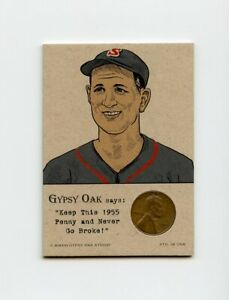 VICTOR-STARFFIN-1955-Penny-Insert-NEVER-GO-BROKE-Trade-Card-RARE