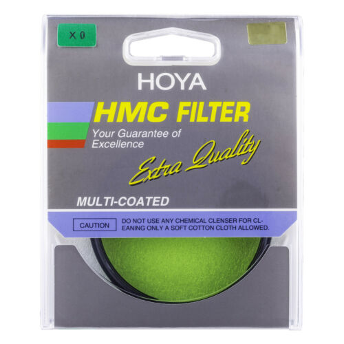 Unused /& Sealed UK Stock Hoya 72mm X0 Yellow Green High Quality HQ  filter