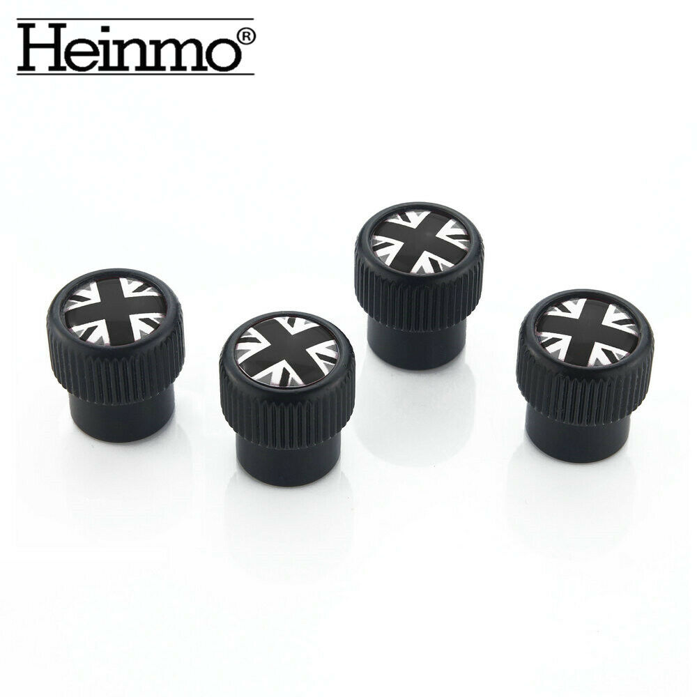 Heinmo 2PCS Tire Wheel Rims Stem Air Valve Caps Tyre Cover Wheel Cap for Motorcycle Car Truck Bike Stem Caps Valve Stems