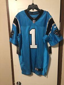 7418d35fc Image is loading Nike-Carolina-Panthers-Cam-Newton-Authentic-ELITE-Jersey-