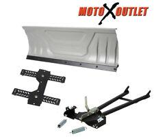 "Kolpin Steel Atv Snow Plow Adjustable 48"" Blade Complete Universal Kit"