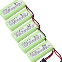5x Phone Battery For Uniden Dect 6.0 1.9ghz Bt-1008 Bt1008 2080-3 Bt-1016 Bt1016