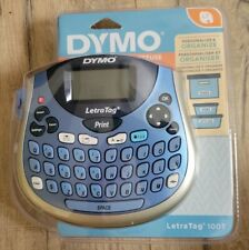New Dymo Letratag Lt 100t Personal Label Maker Portable New Amp Factory Sealed