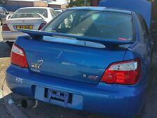 Subaru impreza newage spoiler