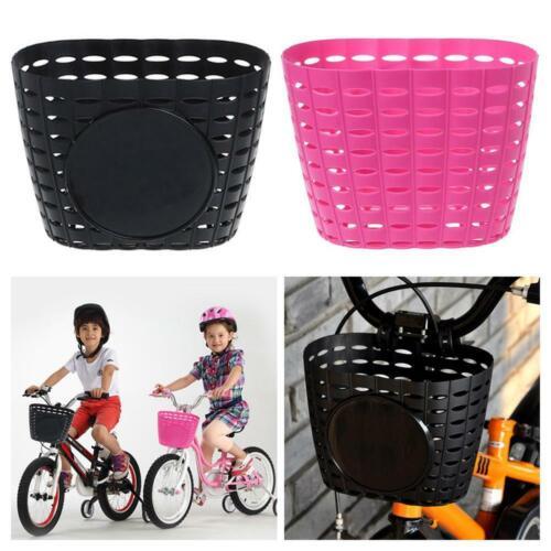 Bicycle Children Kids Girls Boys Bike Front Bicycle Cycle Shopping Basket Bag UK