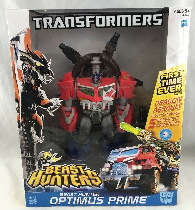 Transformers Prime Beast Hunter Optimus Prime Dragon assaut DGSIM