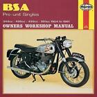 B. S. A. Pre-unit Singles Owner's Workshop Manual von Mansur Darlington (1988, Taschenbuch)