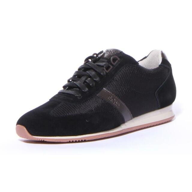 608f5e93ba3 Men Hugo Boss Shoes Orland LowP Sdny1 SNEAKERS Black Size 12 for ...