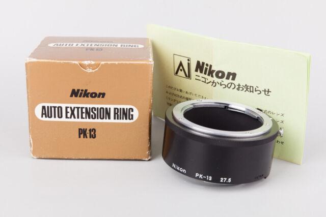 Nikon PK-13 Auto Extension Tube Ring 27.5mm, For Ai Ai-s Lens Close-up