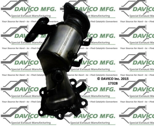 Catalytic Converter-Exact-Fit Front Davico Exc CA fits 07-09 Mazda CX-7 2.3L-L4
