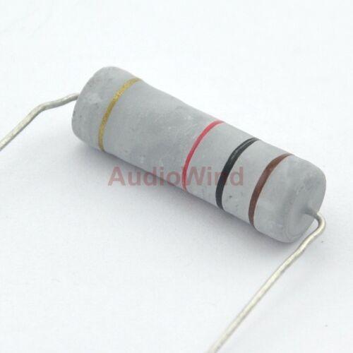 5 Watts. 10PCS 1K OHM 5W Metal Oxide Film Resistor