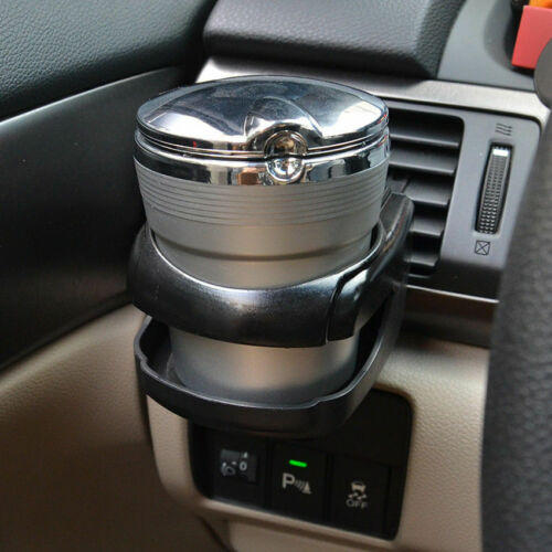 1x Black Car Accessories Drink Holder Air Vent Clip-on Mount Water Bottle Stand