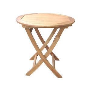 Caprice Gartentisch 60x60 Klapptisch Holztisch Tisch Bistrotisch