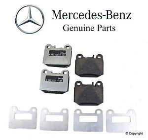 ML500 ML55 AMG Front Rear Semi-Metallic Brake Pads For Mercedes-Benz ML430